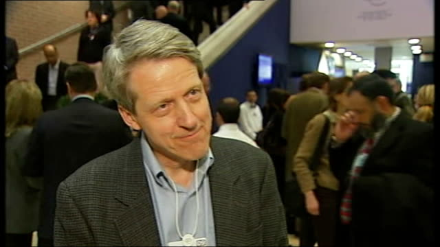 World Economic Forum/ protectionism threat / oil refinery strikes SWITZERLAND Davos INT Professor Robert Shiller interview SOT hard to predict where...