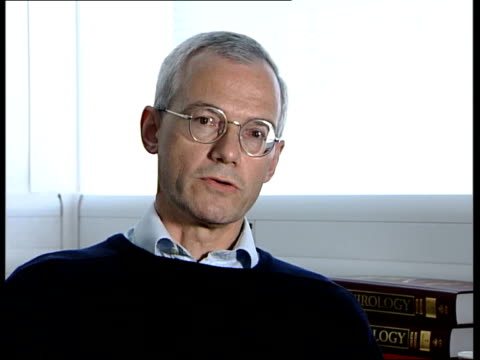 World Health Organisation reconsidering Smallpox regulations Professor Geoffrey Smith interview SOT In the case of allowing someone to engineer a...