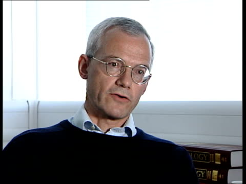 World Health Organisation reconsidering Smallpox regulations Professor Geoffrey Smith interview SOT If the need is to obtain one or two antiviral...