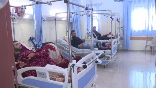 world health organization inaugurates a limb reconstruction unit in partnership with the ministry of health - gaza strip stock videos & royalty-free footage