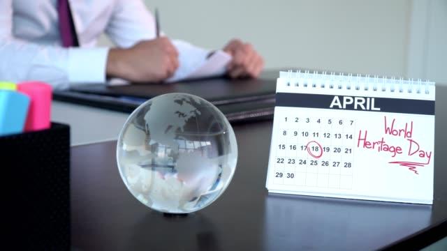 世界遺産 - 特別な日 - 四月点の映像素材/bロール
