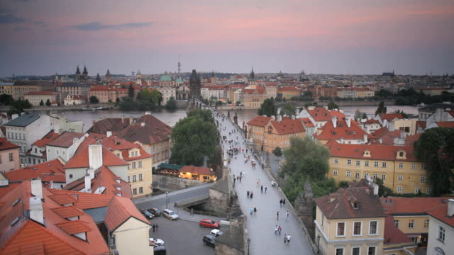 UNESCO World Heritage Site, Charles Bridge, Prague, Czech Republic, Europe