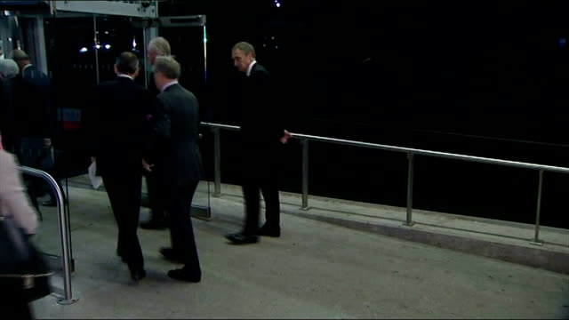 prince charles keynote speech england london excel centre photography *** unknown man arriving in car / prince charles prince of wales arriving / int... - keynote speech stock videos and b-roll footage