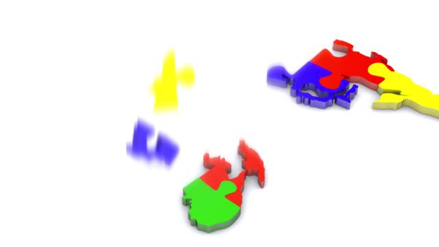Monde puzzle