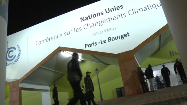 world leaders launch a whirlwind day of talks in the french capital aimed at forging an elusive agreement to stave off calamitous global warming - 2015 stock videos & royalty-free footage