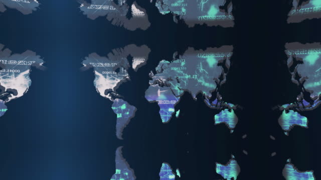 vídeos de stock e filmes b-roll de mapa do mundo de fundo - mapa múndi