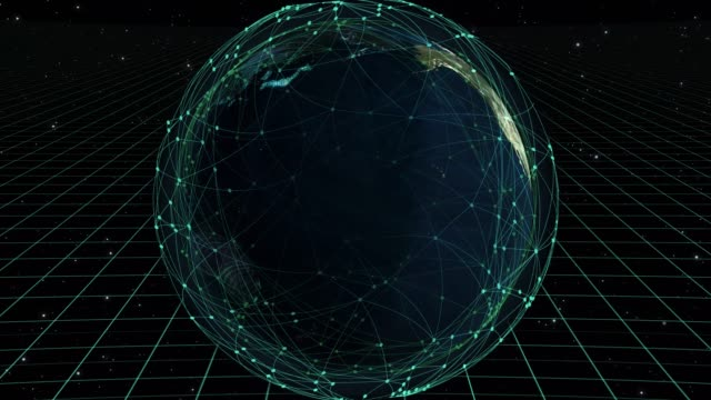 world map cyber concept - threats stock videos & royalty-free footage