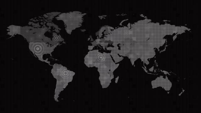 4k world map full background - country geographic area stock videos & royalty-free footage