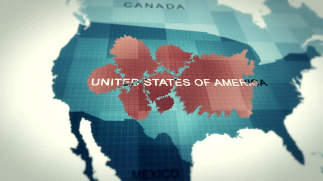 world map usa map 4k animation coronavirus covid-19 - danger stock videos & royalty-free footage