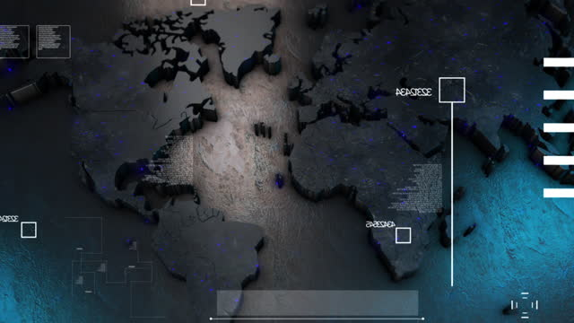 world map - design element stock videos & royalty-free footage