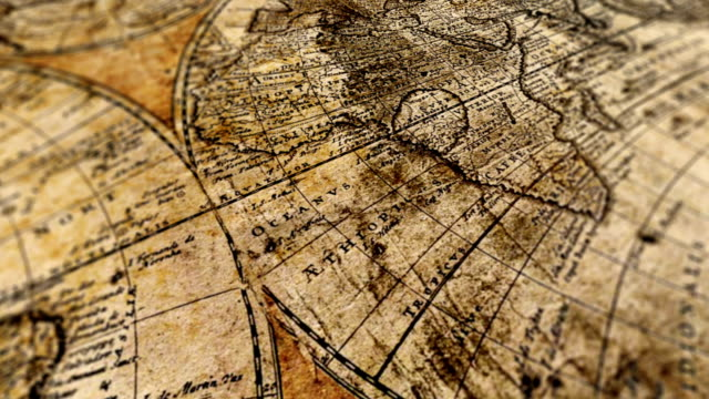 world map - ancient stock videos & royalty-free footage