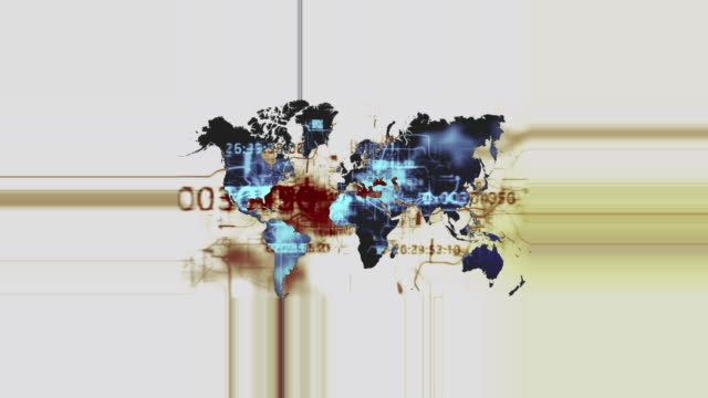 vídeos de stock e filmes b-roll de mapa do mundo - mapa múndi