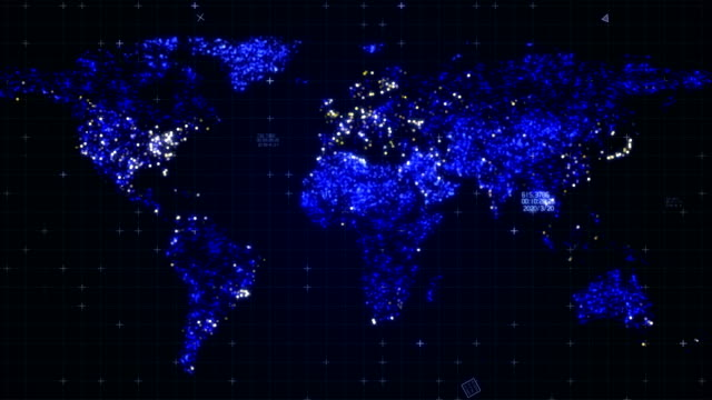 world map - outline stock videos & royalty-free footage