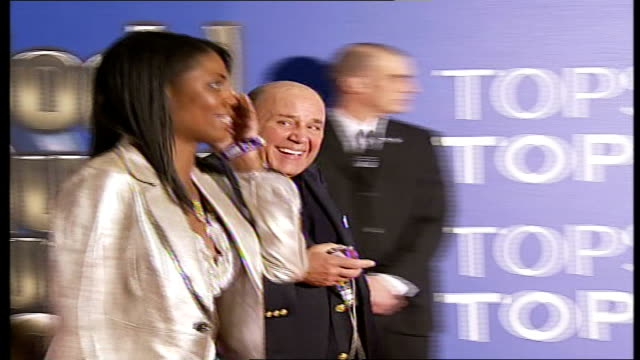 celebrity red carpet arrivals and interviews / winners room interviews sign 'world music awards 2006' / omarosa manigaultstallworth wearing blue... - omarosa manigault newman stock videos & royalty-free footage