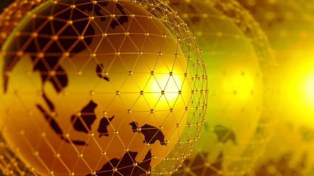 Welt Netzwerk Hintergrund