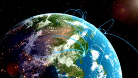 world network loop - reportage stock videos & royalty-free footage