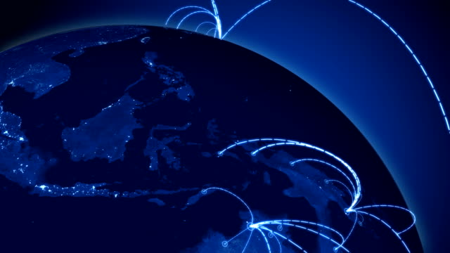 world network loop. - global stock videos & royalty-free footage
