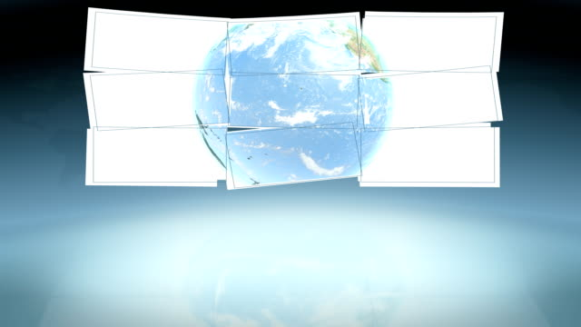 world news studio. loop - cable tv stock videos & royalty-free footage