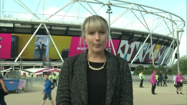 georgie hermitage interview / highlights reporter to camera - itv london tonight weekend stock videos & royalty-free footage