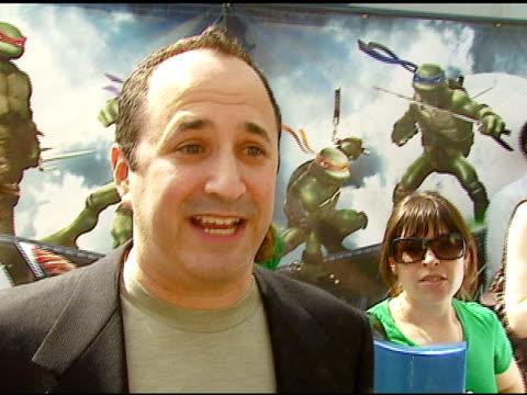 world premiere of 'teenage mutant ninja turtles', hollywood, ca: 3/17/07 in hollywood, california on march 19, 2007. - ミュータント・タートルズ点の映像素材/bロール