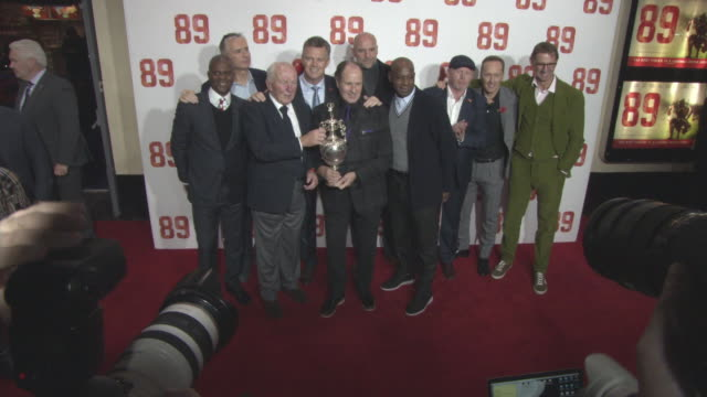 clean '89' world premiere on november 8 2017 in london england - ian wright stock videos and b-roll footage
