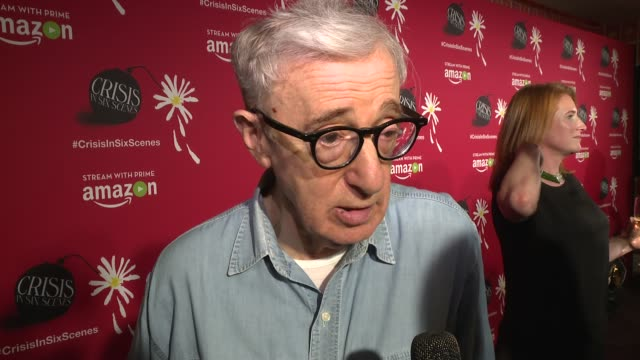 world premiere screening held in new york city at crosby street theater on september 16 2016 in new york city - woody allen stock videos & royalty-free footage