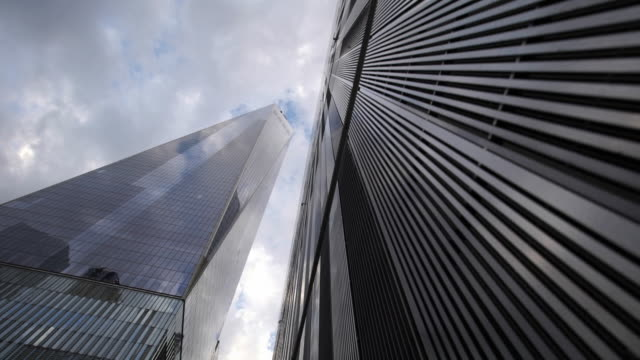 world trade center - looking up - directly below stock videos & royalty-free footage