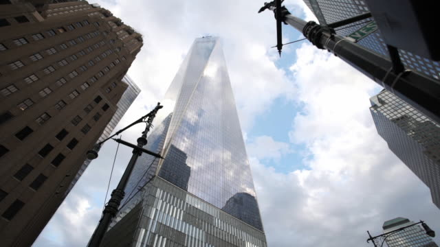 World Trade Center - looking up