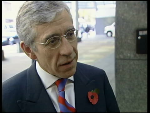 new york jack straw mp interviewed sot agreed that the only future for afghanistan lies with a broad based multiethnic government could mean taking... - jack straw stock videos and b-roll footage
