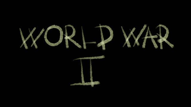 vídeos de stock e filmes b-roll de world war 2 - batalha guerra
