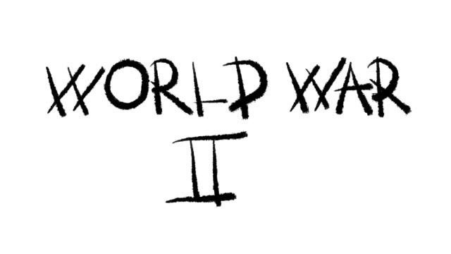 weltkrieg 2 - war stock-videos und b-roll-filmmaterial