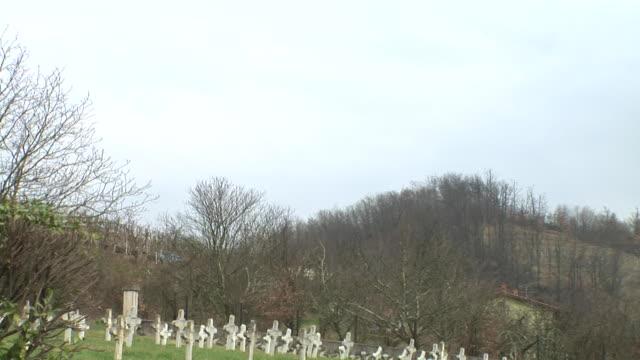 hd: world war i cemetery - world war i stock videos and b-roll footage