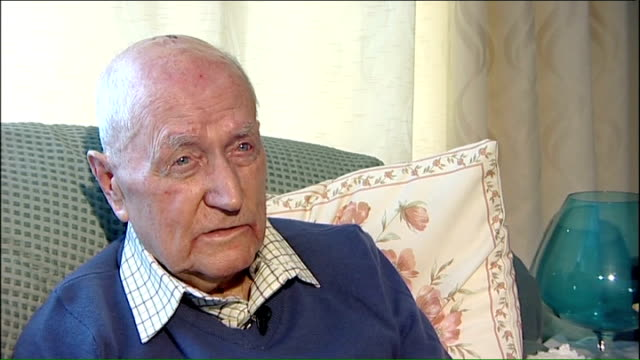 world war ii: 70th anniversary of d-day landings marked; england: int jock hutton interview sot - - anniversary stock videos & royalty-free footage