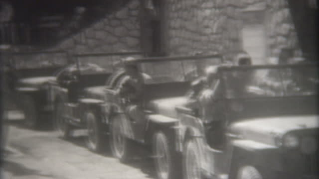 world war ii austria 1945 - 4x4 stock videos and b-roll footage