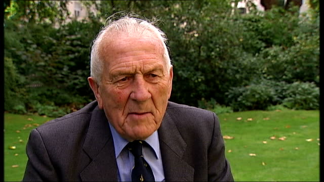 battle of britain 70th anniversary of luftwaffe's attempted aerial invasion of britain london ext squadron leader tony pickering interview sot german... - luftwaffe stock videos and b-roll footage