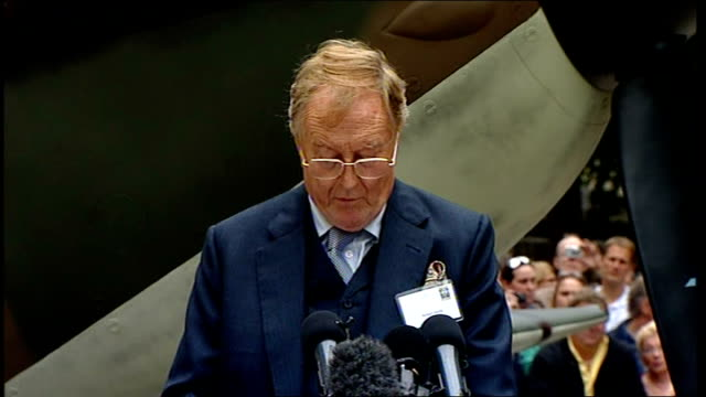 Battle of Britain 70th anniversary Robert Hardy reads Churchill speech Robert Hardy reading Winston Churchill wartime speech continued SOT If we had...