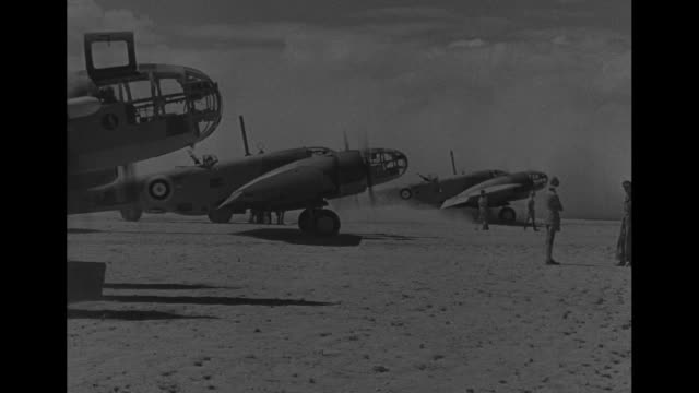 world war ii / cu british plane martin maryland a bomber / vs plane / planes taxi and take off / plane in flight / 8 bombs dropping / wreckage and... - bomber plane stock videos and b-roll footage