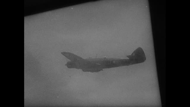 world war ii / pacific theater / row of p39 planes /group of p38s and b23s over bismarck sea / interior of plane / rear view of pilots / plane... - pacific war stock videos and b-roll footage