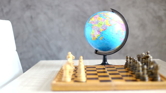 World war. The concept of chess