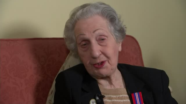 DDay landings switchboard operator to receive Legion d'honneur ENGLAND INT Marie Scott interview SOT