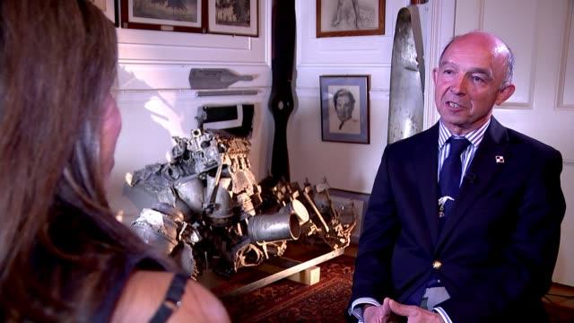 New film recognises contribution of Polish pilots to British war effort ENGLAND Richard Kornicki interview SOT