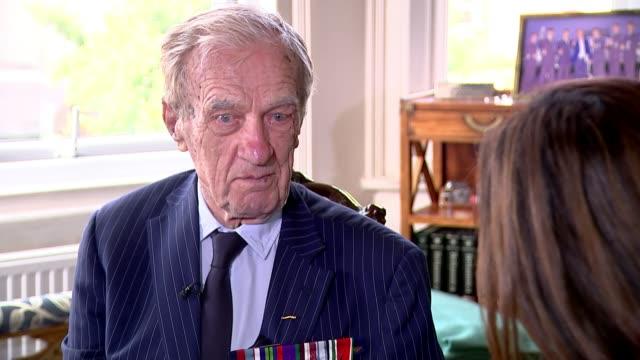 New film recognises contribution of Polish pilots to British war effort ENGLAND Marek Jankiewicz interview SOT