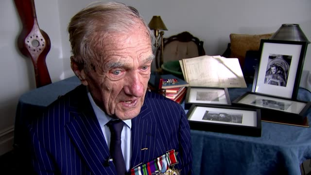 New film recognises contribution of Polish pilots to British war effort ENGLAND Marek Jankiewicz interview SOT CUTAWAY reporter