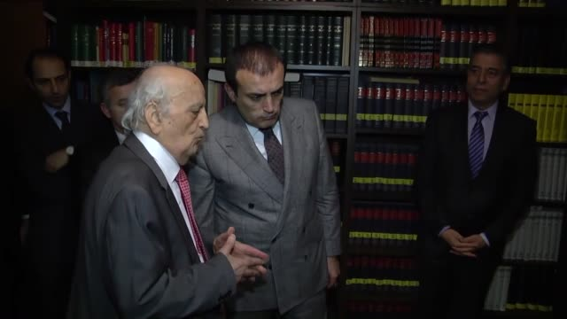 world-renowned turkish historian fuat sezgin died on saturday at the age of 95. macit cetinkaya, chair of the board of research foundation for the... - istanbul province stock videos & royalty-free footage