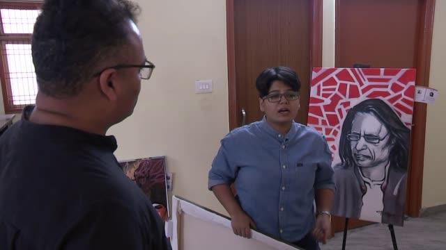 world's largest election battle underway between modi and gandhi; india, varanasi; debashish bhattacharya interview, car, sana sabah interview,... - cut video transition stock videos & royalty-free footage