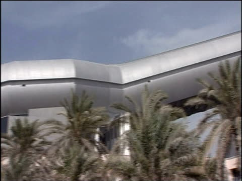 world's largest indoor ski resort ski dubai - bbc news stock videos and b-roll footage