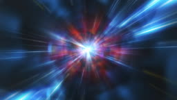 Wormhole Space Time Tunnel