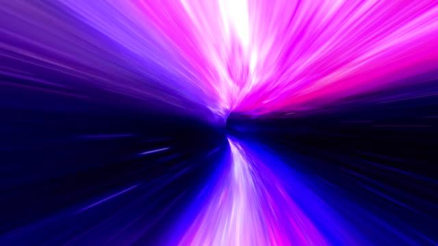 Wormhole space travel purple
