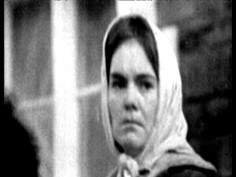 worried relatives wait for news aberfan disaster 21 oct 66 - 1966 stock videos & royalty-free footage