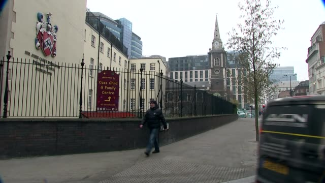worries over air quality trigger pollution alerts across the country various of sir john cass primary school which placed restrictions on children... - trigger stock videos & royalty-free footage